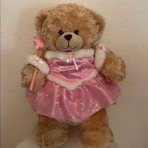 Refurbished Build a Bear pink princess.